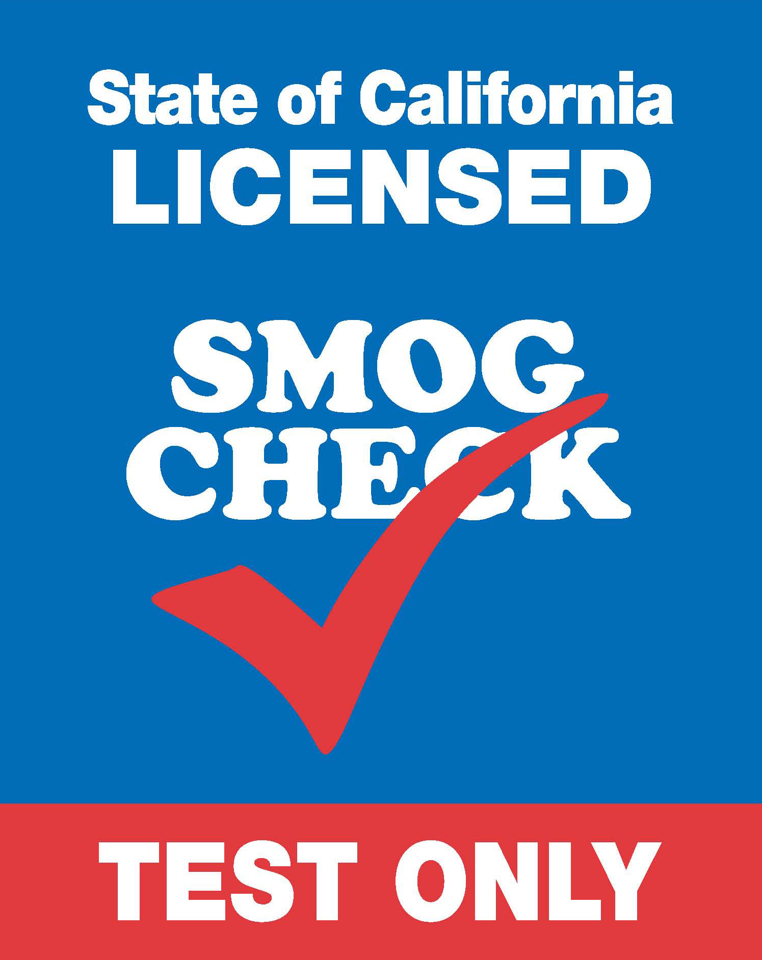 Smog Check Test Only